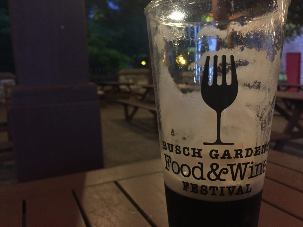 Busch Gardens Williamsburg Food and Wine Festival 2015