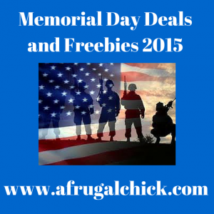 Memorial Day Discounts and Freebies 2015