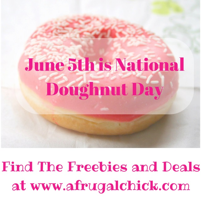 Cool National Doughnut Day 2015 Freebies And Deals