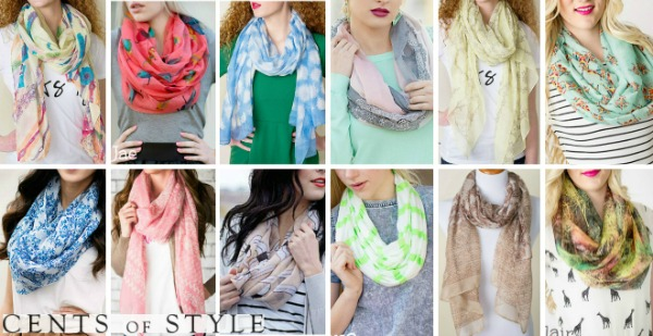 cents of style scarf four