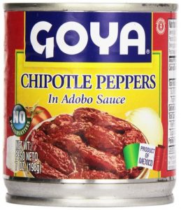 goya chipotle peppers