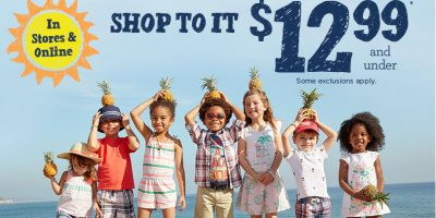 gymboree free shipping twelve 99 and under