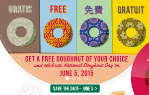 krispy kreme free doughnut appreciation