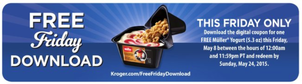 kroger friday yogurt
