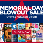 memorial day magazine blowout