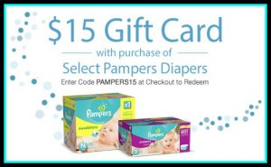 pampers promo