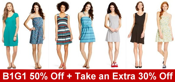d8d35d5862 Target  Women s Dresses B1G1 50% Off + Take an Extra 30% Off Online  Purchases with Code