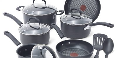 tfal ultimate hard anodized cookware set
