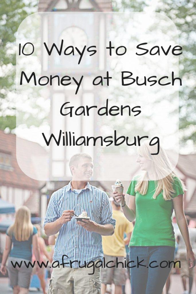 Ways To Save Money at Busch Gardens Williamsburg – Busch Gardens Dining Plan