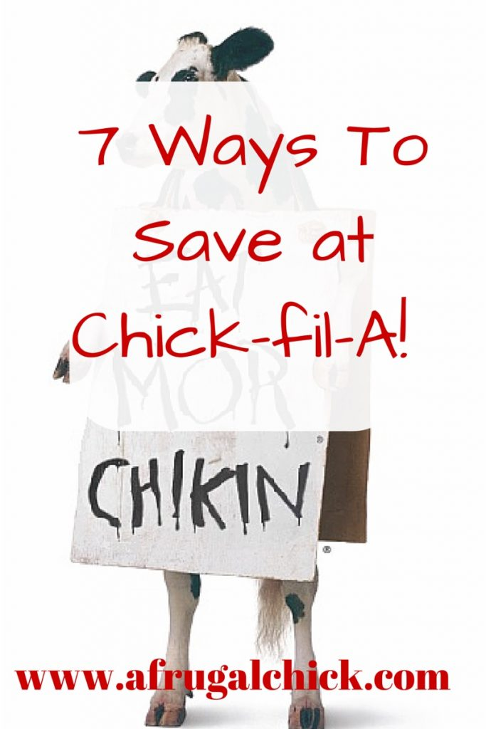 Ways To Save at Chick-fil-A