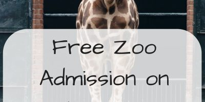 Free Zoo Admission on Father's Day