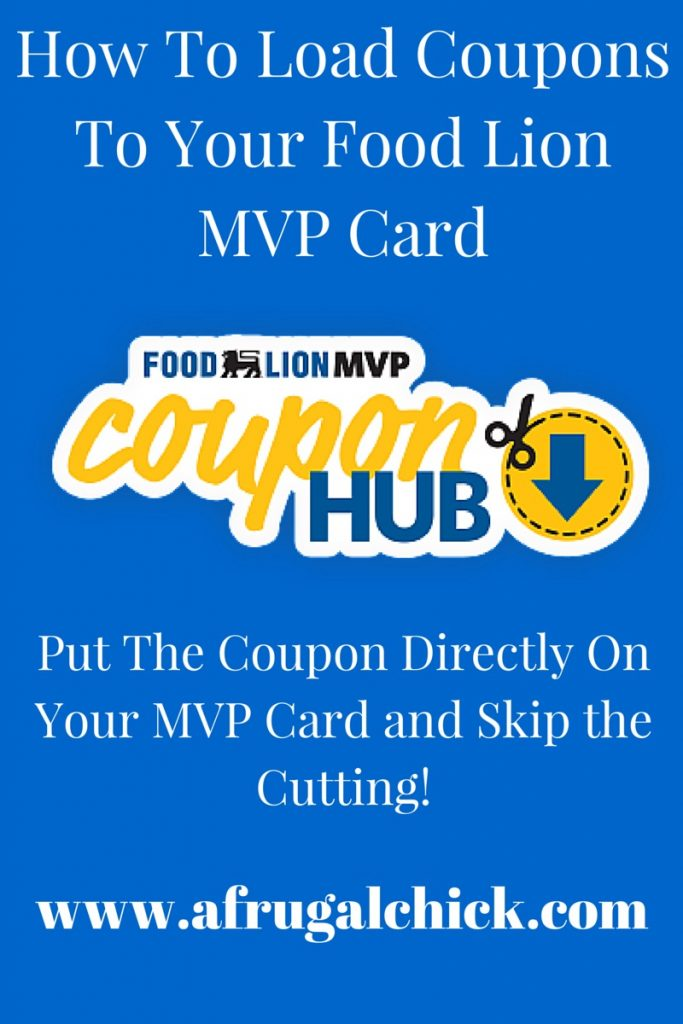 How To Load Coupons To Your Food Lion MVP Card