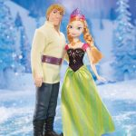 anna and kristoff dolls
