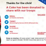 coke to troops