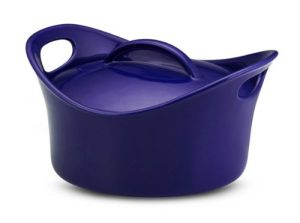 rachael ray blue dish