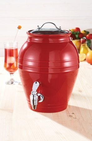 American Atlier Cherry Drop Beverage Dispenser
