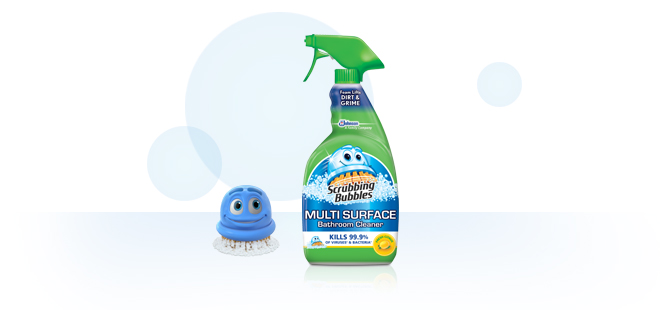 Scrubbing Bubbles Multisurface Bathroom Cleaner