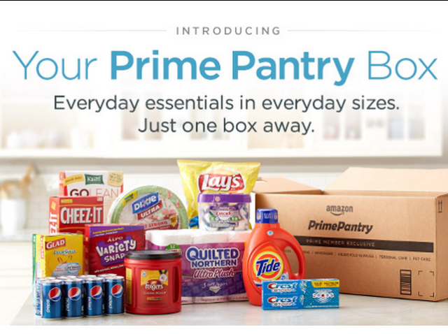 Amazon get free shipping on a prime pantry box in june for Front porch pantry coupon