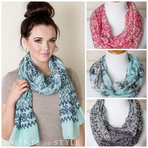 cents of style scarf flash