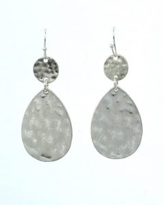 cents of style silver earrings