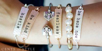 cents of style stackable bracelet