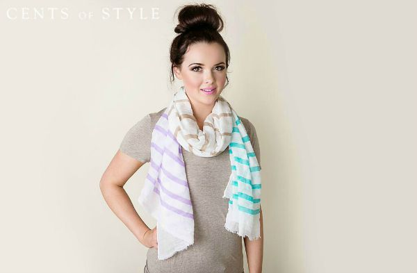 cents of style summer scarves