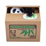 little panda piggy bank