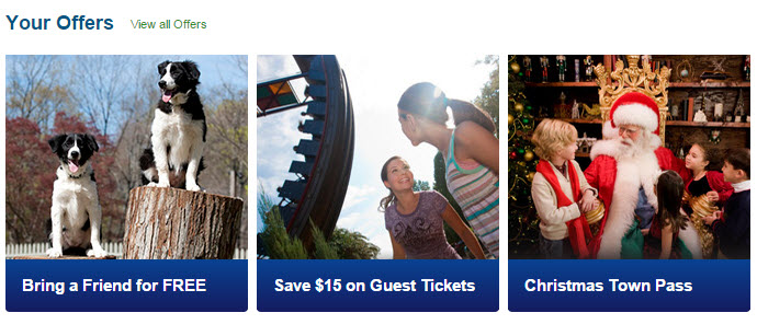 Busch Gardens Williamsburg Christmas Town Discount July 2015