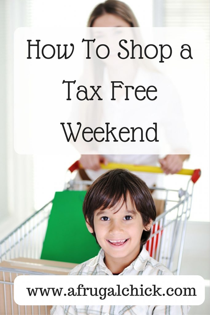 How To Shop a Tax Free Weekend