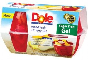 dole fruit in gel