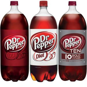 dr pepper two liter