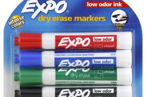 expo markers four pack