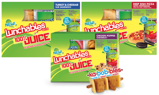 lunchables with juice