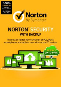 norton security with back up
