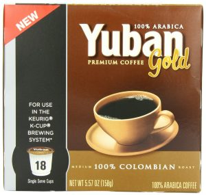 K Cup Stock Up Price On Amazon Yuban Gold Colombian Coffee