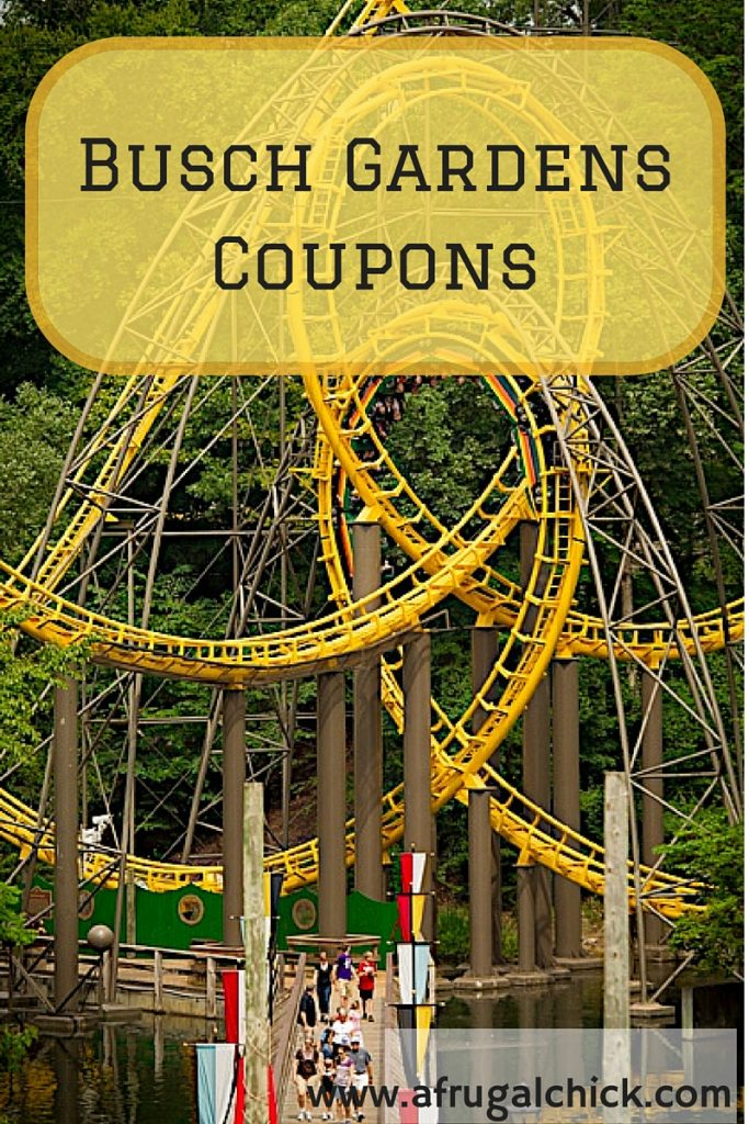 Busch gardens williamsburg coupons Busch gardens promo code 2017