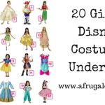 20 Girls' Disney Costumes Under $30