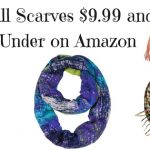 Fall Scarves $9..99 and Under on Amazon