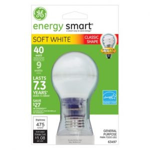 GE Soft White Light Bulbs