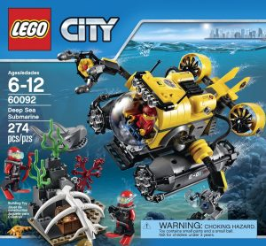 LEGO City Deep Sea Explorers Submarine Building Kit