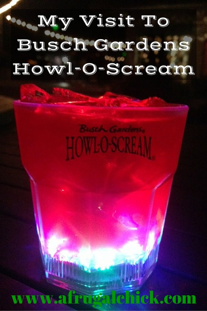 My Visit To Busch Gardens Howl O Scream