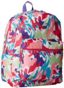 Trailmaker Big Girls' Splatter Backpack with Coin Pouch