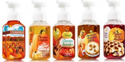 bath and body works halloween soaps