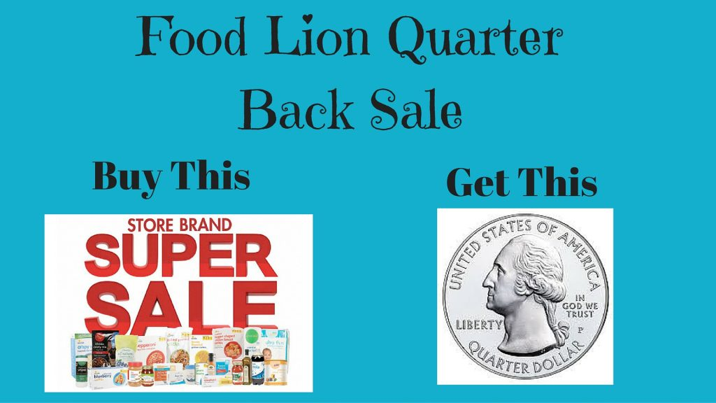 food lion quarter back sale