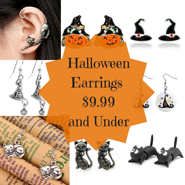 halloween earrings instagram