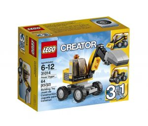 lego power digger