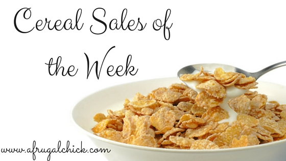 Breakfast Cereal Sales