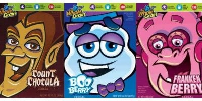 Boo Berry, Count Chocula, or Franken Berry Cereal