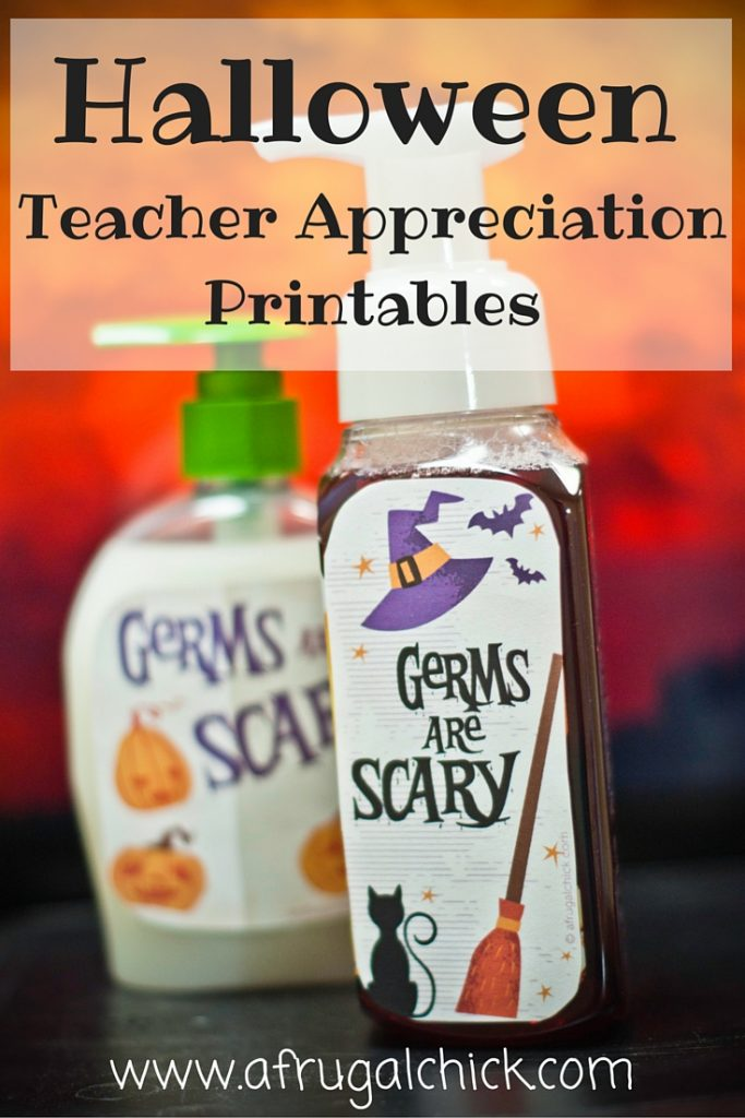 Halloween Teacher Appreciation Printables 1