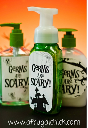Germs are Scary Printable